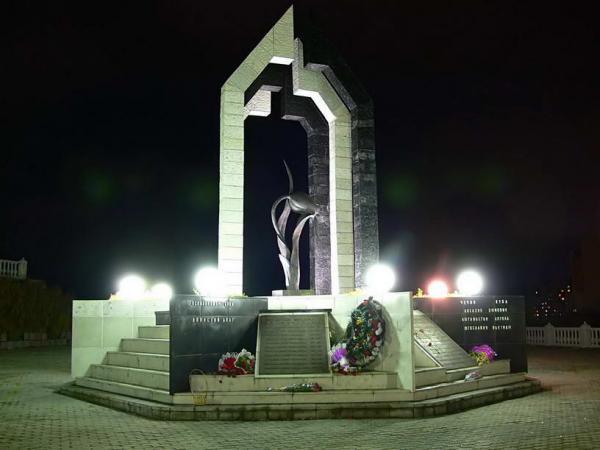 Мемориал «Чёрный тюльпан», Норильск