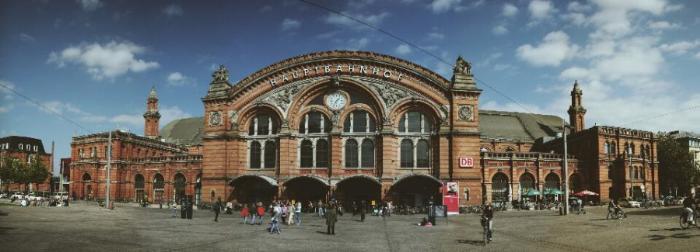 Железнодорожный вокзал в Бремене