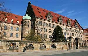 Что обязательно нужно посмотреть в Нюрнберге так это дворе правосудия