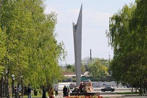 Пенза. Монумент Росток