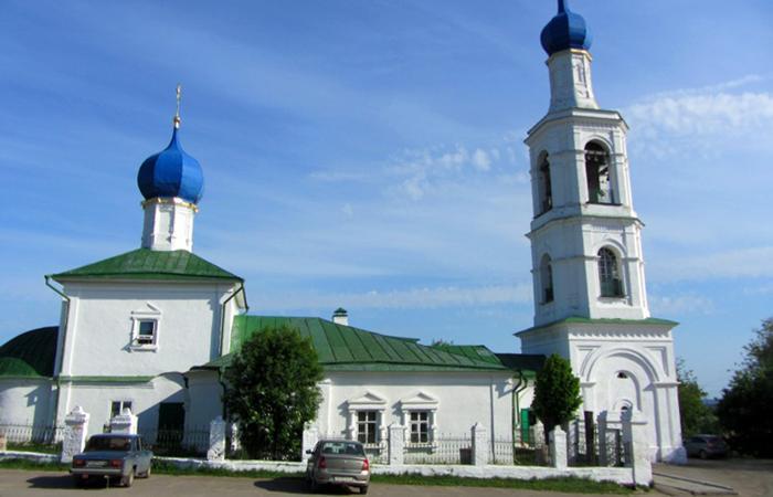 Никольская церковь в Касимове