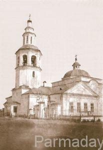 Троицкая церковь в селе Веретие