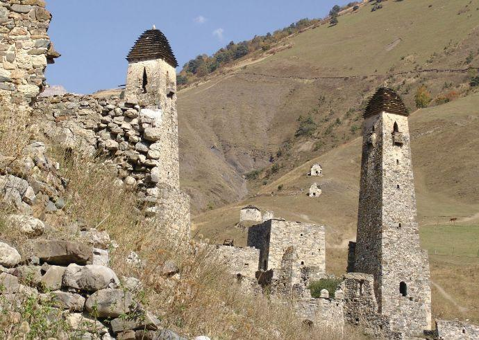 Каменные башни, Грозный