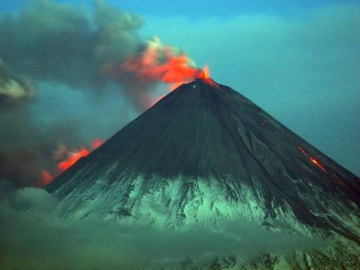 Вулкан Ключевская сопка Камчатка фото