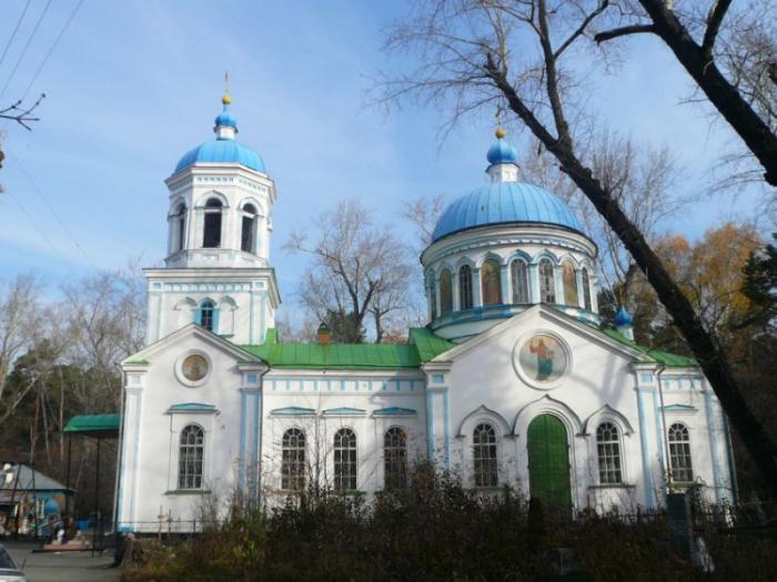 Церковь Воскресения Христова, Шадринск