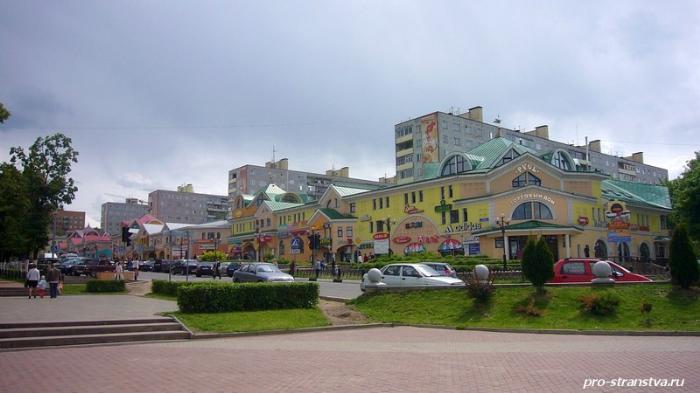 Торговая улица в центре