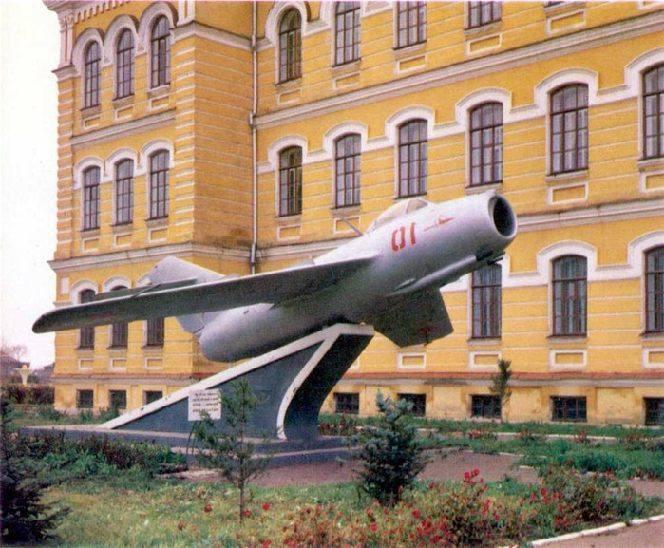 Макет самолёта МиГ-15, Оренбург