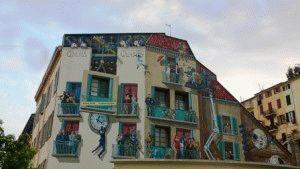 Канны фото город Франция необычные дома