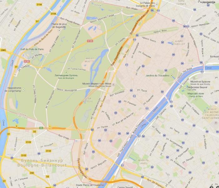16 округ Парижа – Пасси