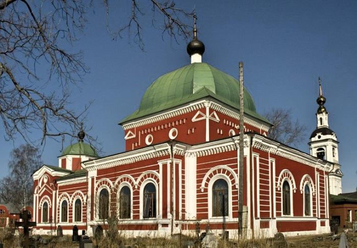 Церковь Георгия Победоносца, Рыбинск