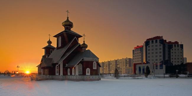 Храм Серафима Саровского, Новый Уренгой