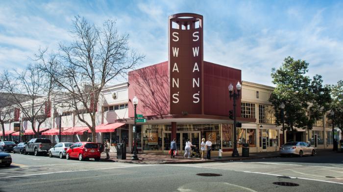 Swans магазин Окленд