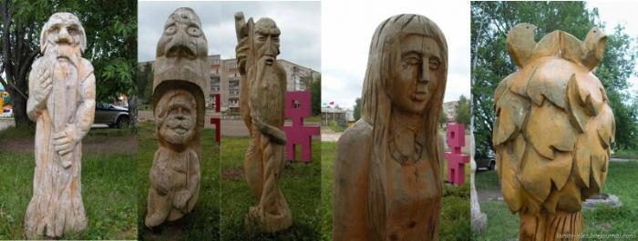 Идол из Харасовея, Сыктывкар