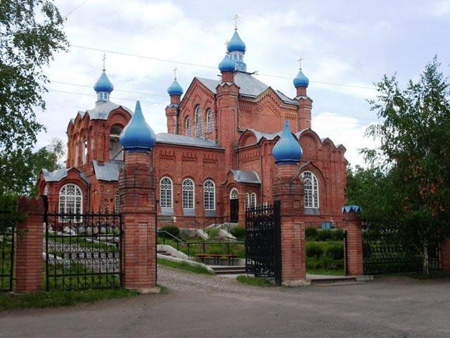 Храм Казанской Божьей Матери, Бийск