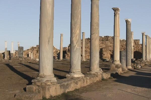 палестра, гимнасий, Саламин, Кипр