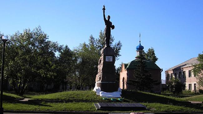 Памятник погибшим шахтёрам