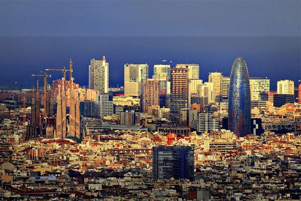Барселона красивейший город Испании