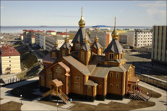 Свято-Троицкий кафедральный собор, Анадырь