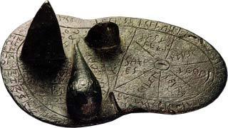 Etruscan bronze liver in Piacenza