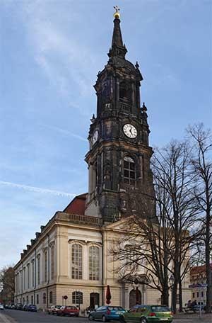 Церковь Трех Волхвов также является известной достопримечательностью Дрездена