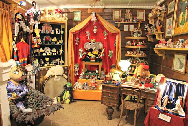 Внутри Музея мыши
