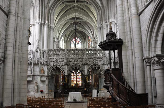 Внутри церкви святой Магдалины