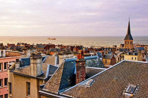 Город гавр франция