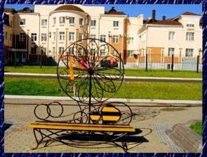 Памятник Любви в Биробиджане