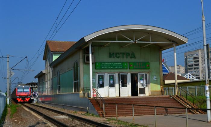 Железнодорожная станция «Истра»