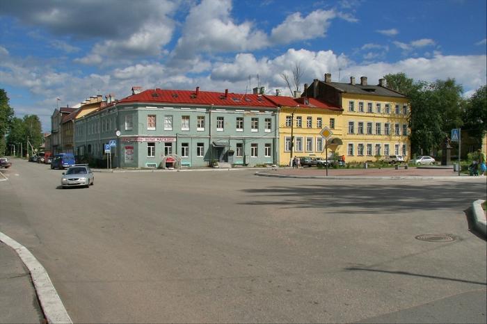 Красная площадь Шлиссельбурга