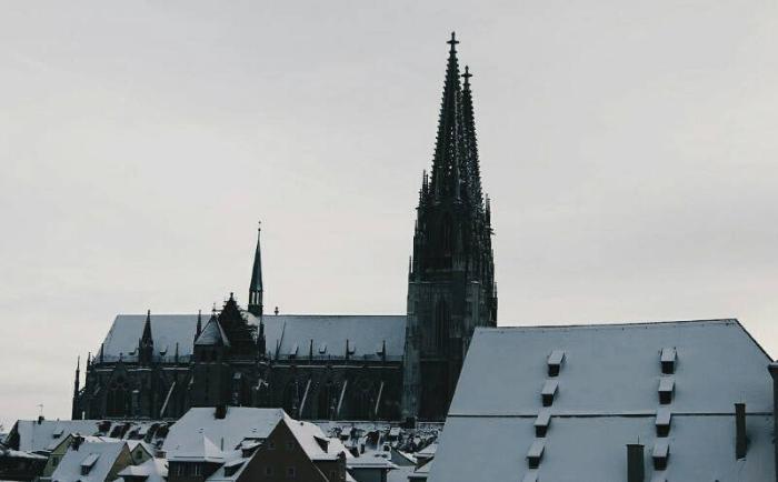 Регенсбург зимой
