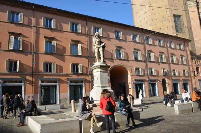 Болонья площадь Гальвани