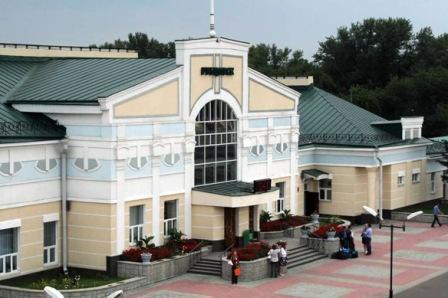 Железнодорожный вокзал в г. Рубцовске