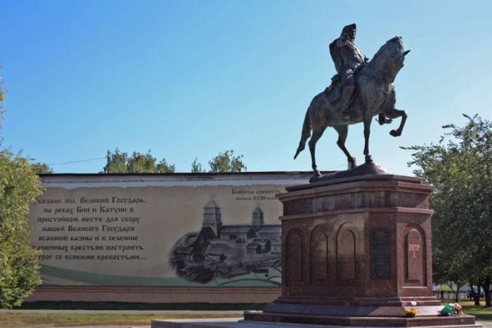Памятник Петру I, Бийск