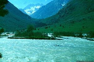 Река Башиль Ауз Су в КБР