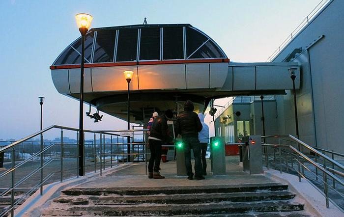 Станция канатной дороги «Борская»