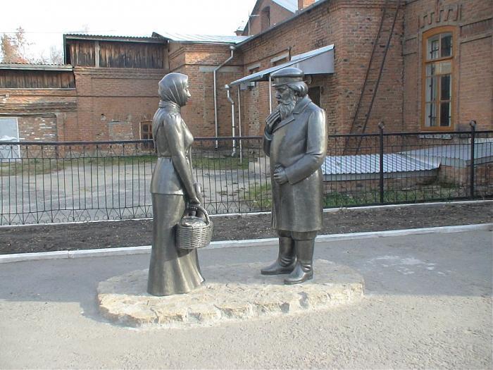 Памятник Шадринскому гусю
