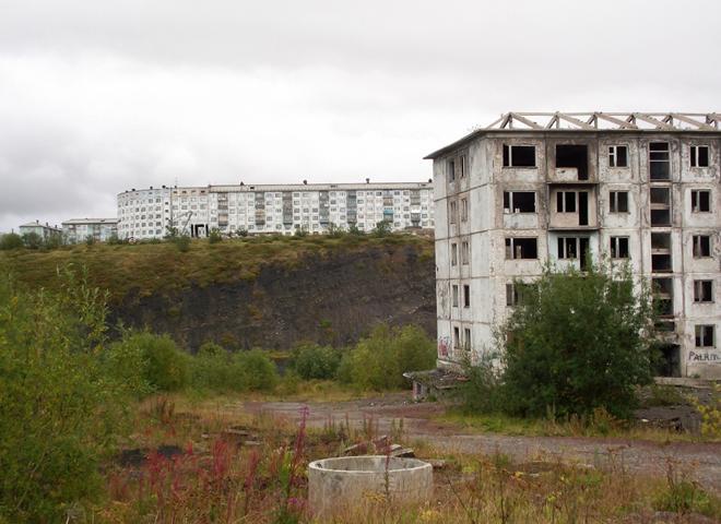 Заброшенный поселок Рудник