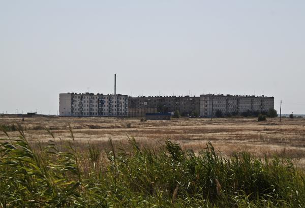 Многоэтажные дома в Ленинске Волгоградской области
