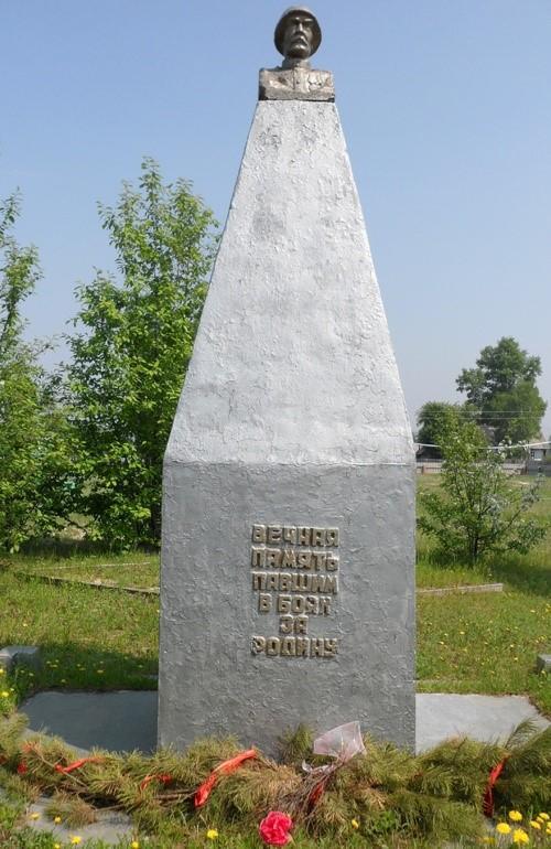 с. Мухино Шимановского р-на. Памятник погибшим односельчанам
