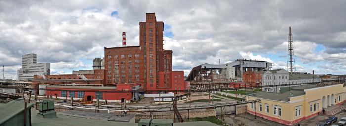Содовый завод, Березники