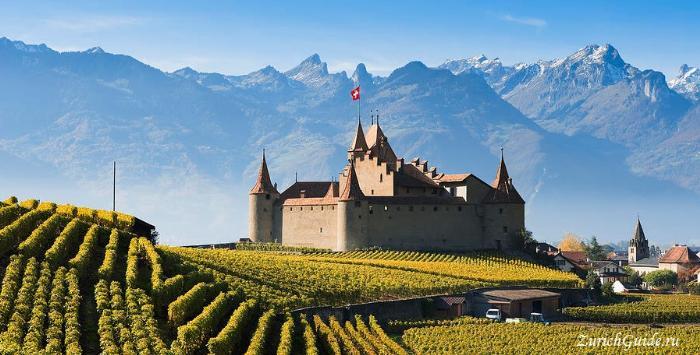 Aigle-castle - замок Эгль, Швейцария