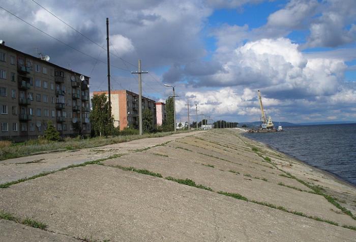 Волга в районе Хвалынска