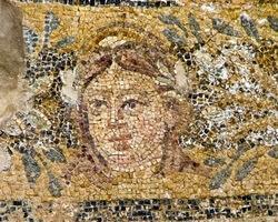 мозаика, Саламин, римская мозаика, Кипр