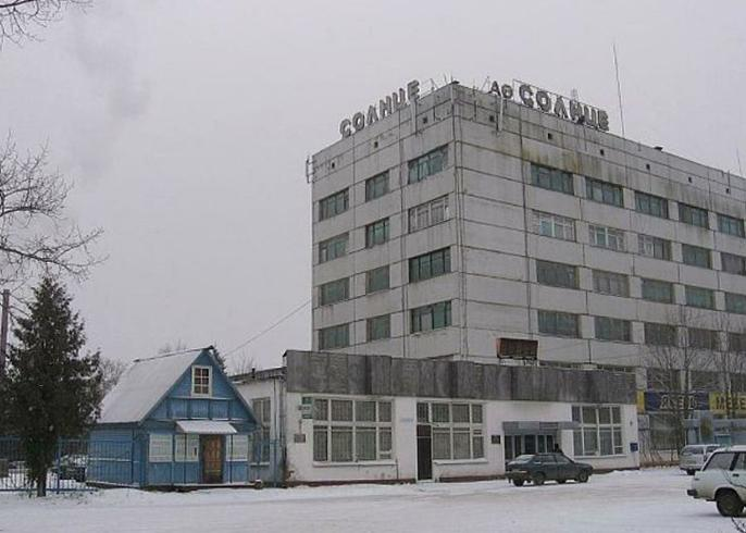Спичечная фабрика «Солнце»