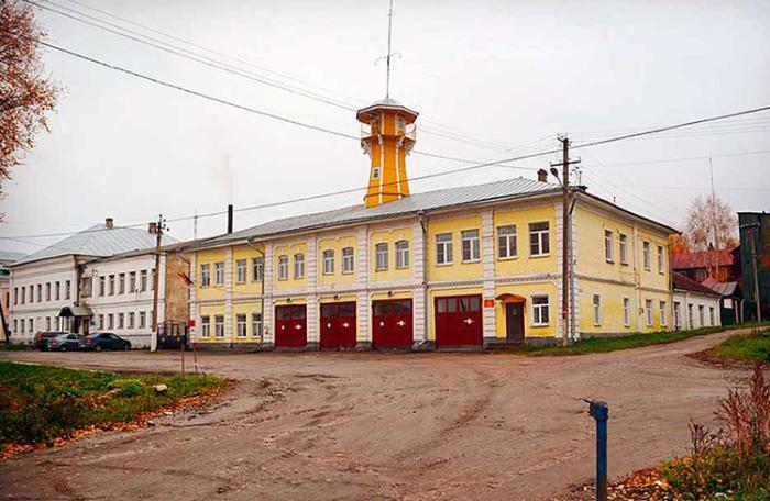 Пожарная каланча