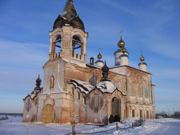 Церковь Рождества Пресвятой Богородицы д. Онежье