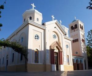 Церковь святой мученицы Параскевы в городе Кос