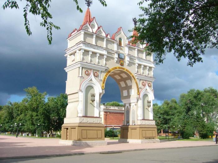 Триумфальная арка, Благовещенск