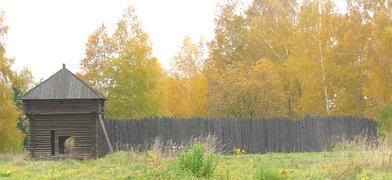 Юильский (Казымский) острог из этнографического музея под Новосибирском